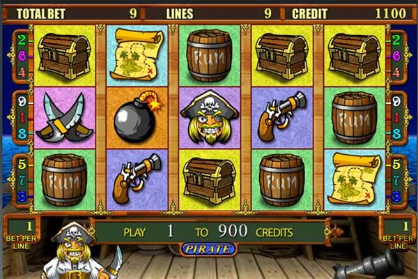 Играйте в игровой автомат Пираты бесплатно и без регистрации.Познакомьтесь с романтикой пиратской жизни в слоте Pirate и получите горы монет!